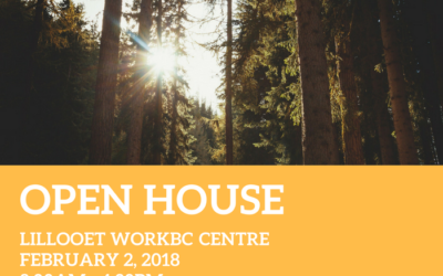 Save the Date for the Lillooet Open House!