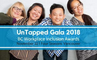 UnTapped Gala 2018: BC Workplace Inclusion Awards