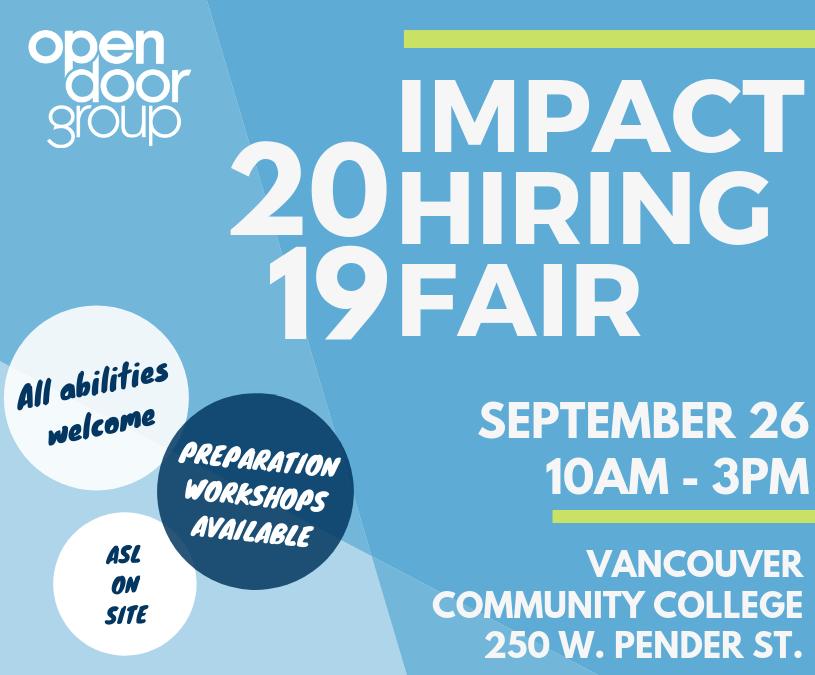 Impact Hiring Fair